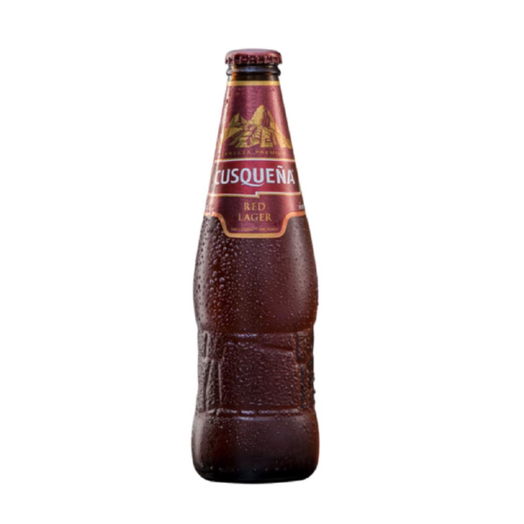 Cerveza Cusqueña Red Botella 330cc