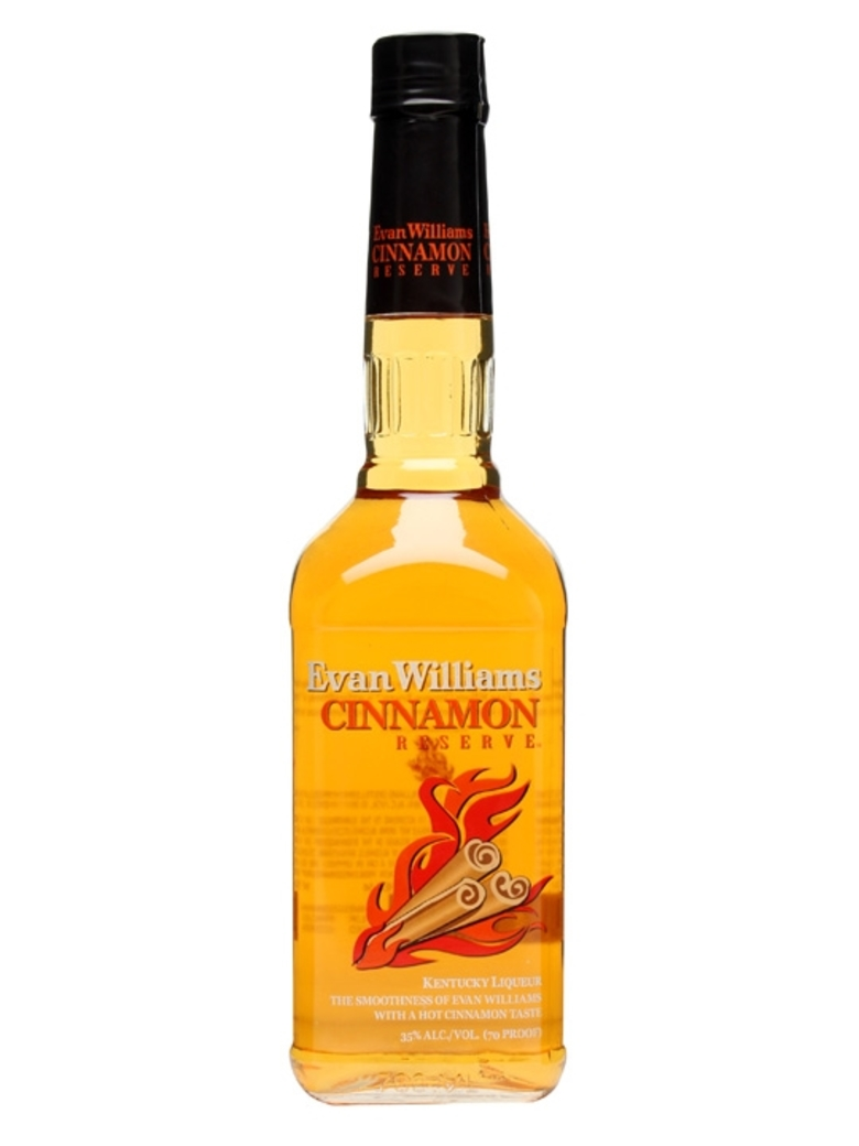Whiskey Bourbon Evan Williams Fire 750cc