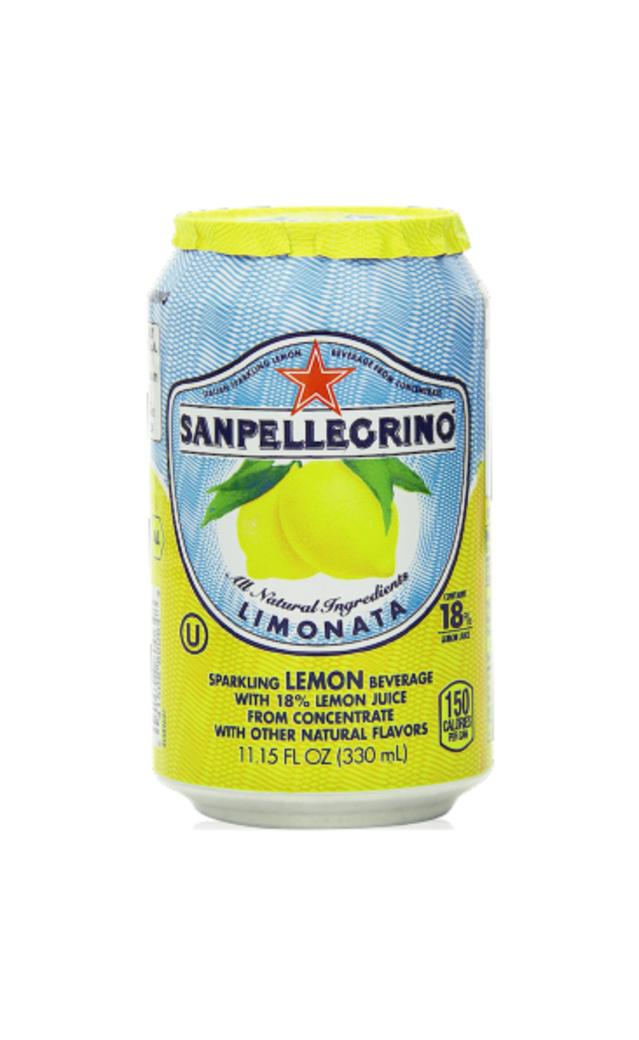 Agua San Pellegrino Limonata Lata 330cc