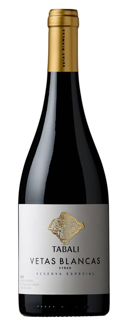 Vino Tabalí Vetas Blancas Reserva Especial Syrah 750cc