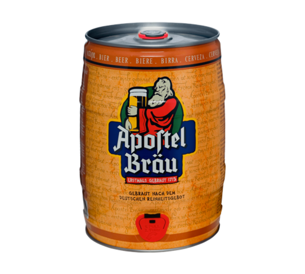 Barril de Cerveza Apostel de 5 Litros