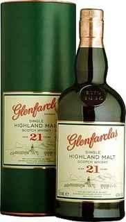 Whisky Glenfarclas 21 años 700cc 43º alc.