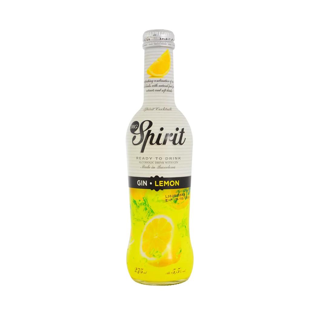 Vodka Spirit Gin Lemon 275cc