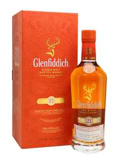 Whisky Glenfiddich 21 Años Rum Cask Finish 750cc 40º alc.