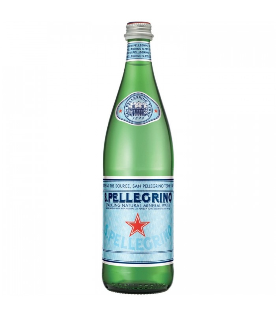 Agua San Pellegrino Glass Spark 500cc
