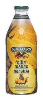 Jugo Guallarauco Mango-Piña-Naranja 1 litro