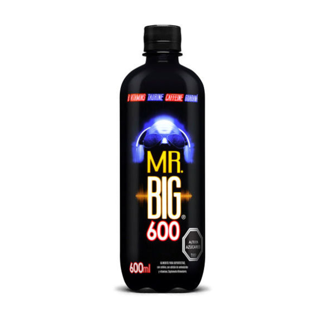 Bebida Energética Mr. Big Black 600ml