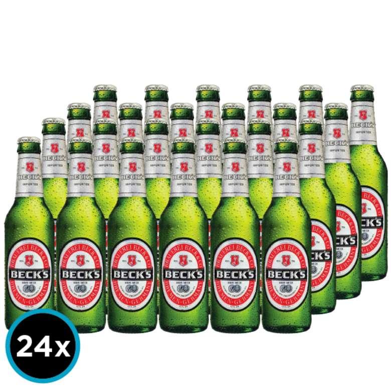 24x Cerveza Becks en Botella 275cc