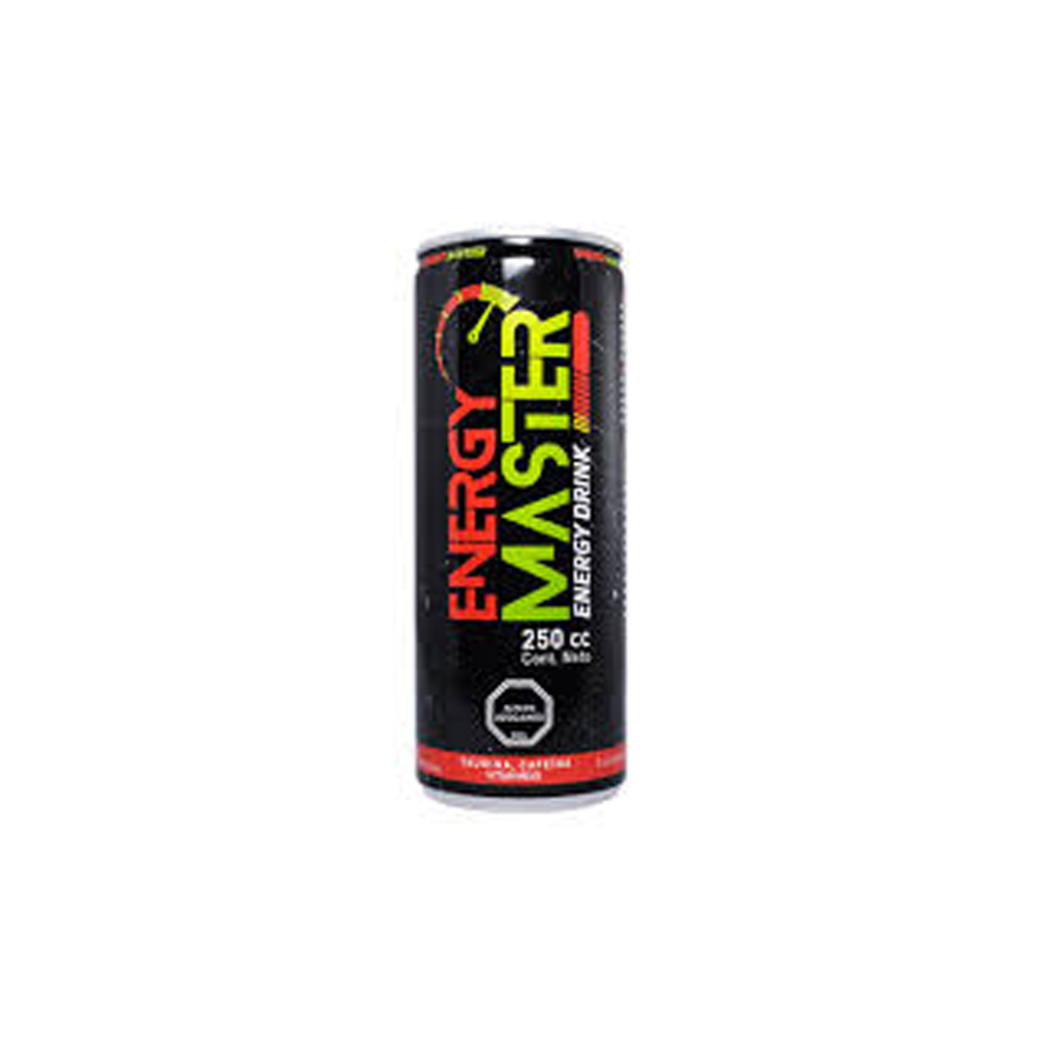 Bebida Energética Energy Master 250cc