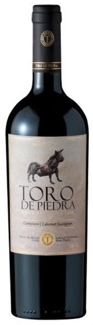 Vino Toro de Piedra Carmenere / Cabernet Sauvignon 750cc