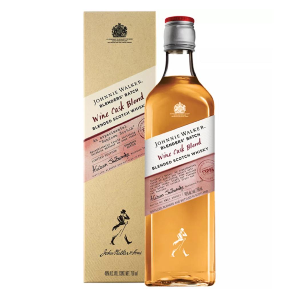 Scotch Whisky Johnnie Walker Wine Cask 750cc