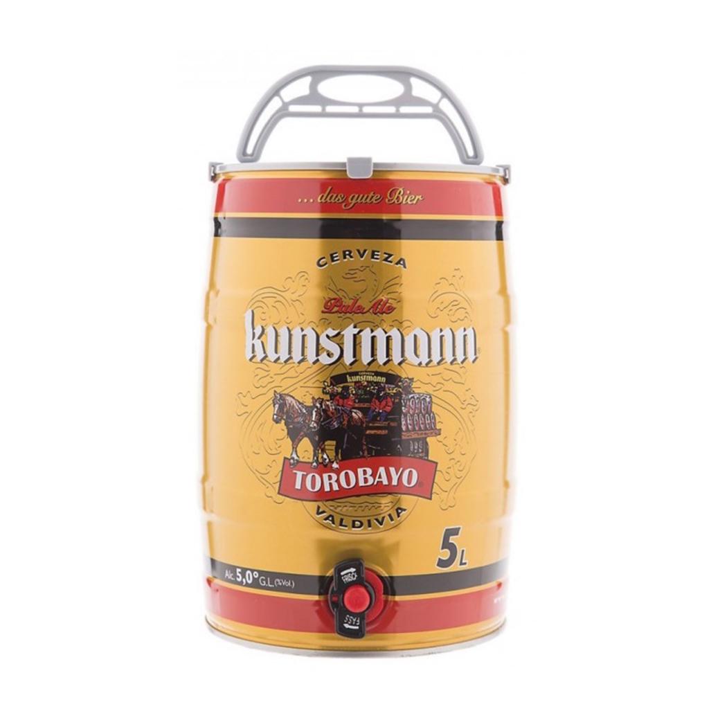 Barril Cerveza Kunstmann Torobayo 5 Litros