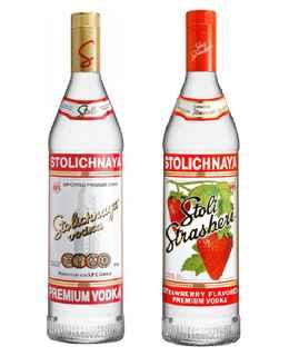Vodka Stolichnaya 750cc + Vodka Stolichnaya Sabor 750cc