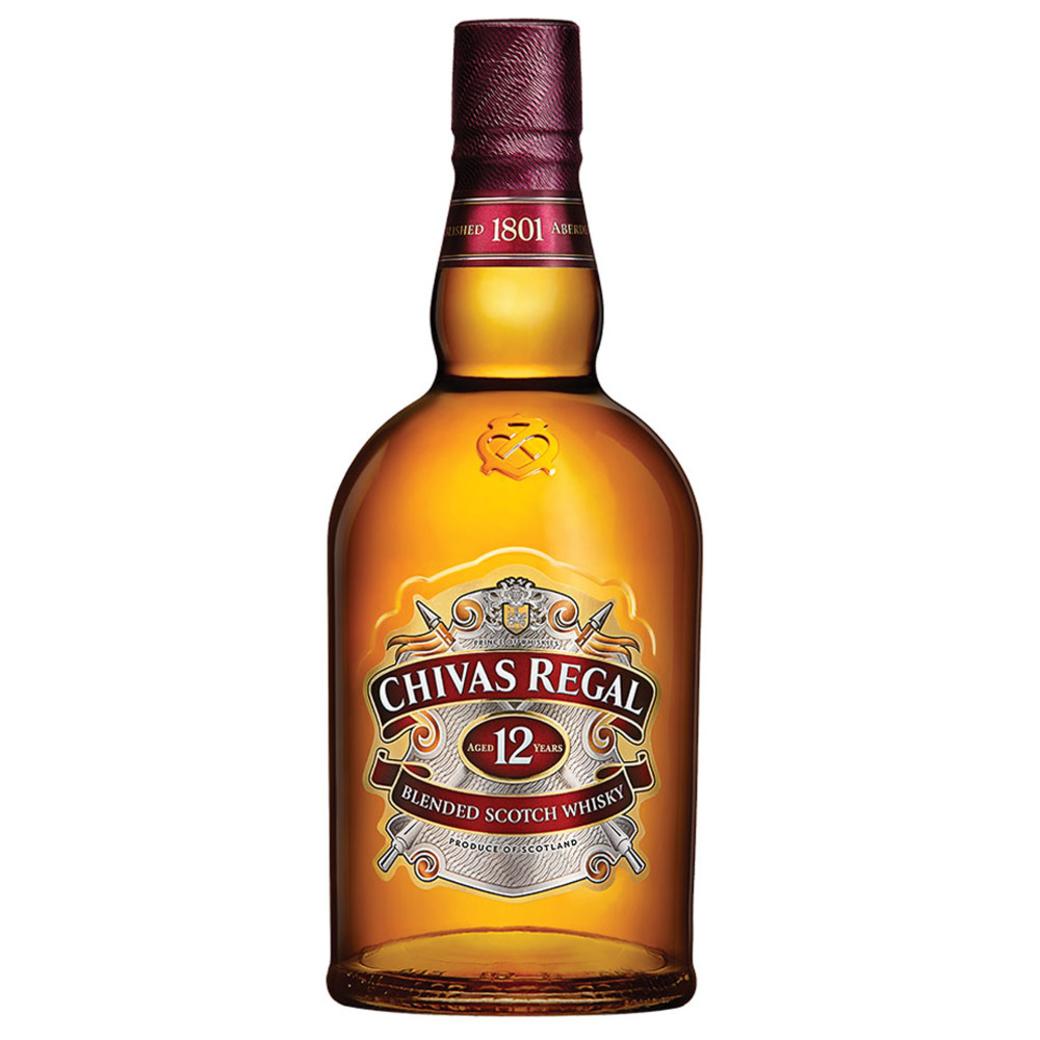 Whisky Chivas Regal 12 Años 1 Litro 40º alc.