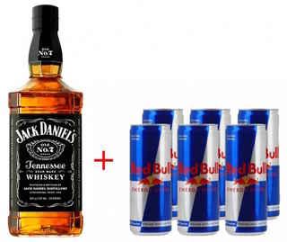 Jack Daniels N7 750cc + 6 Redbull