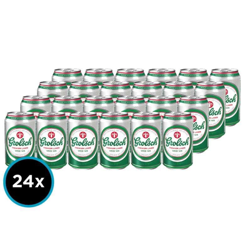 24x Cerveza Grolsch en Latas 330cc