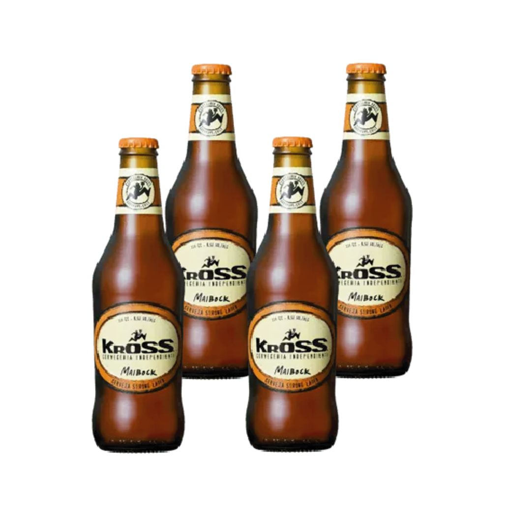 4x Cerveza Kross Maibock en Botellas 330cc
