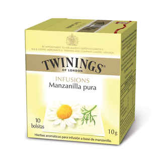 Te Twinings Manzanilla Pura 10 Bolsitas