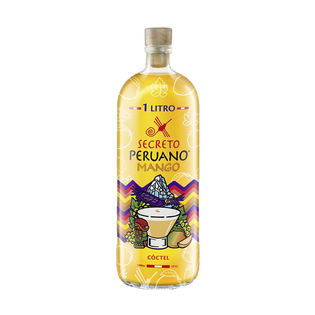 Pisco Sour Secreto Peruano Mango 1 Litro