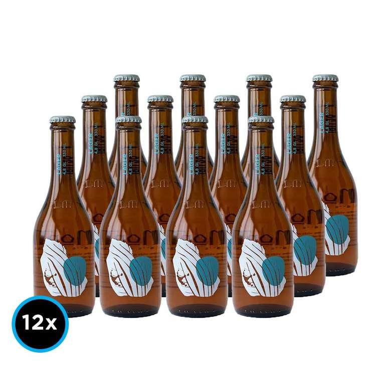 12x Cerveza La Montaña Lager 330cc
