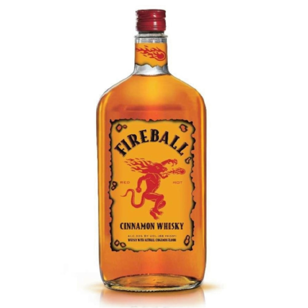 Whiskey Fireball de Canela 750cc 33º alc.