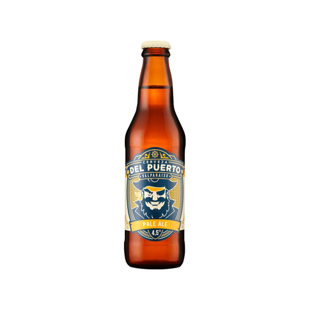 Cerveza del Puerto Pale Ale Botella 330ml