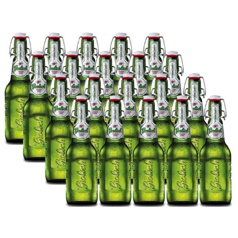 20x Cerveza Grolsch Botella 450cc