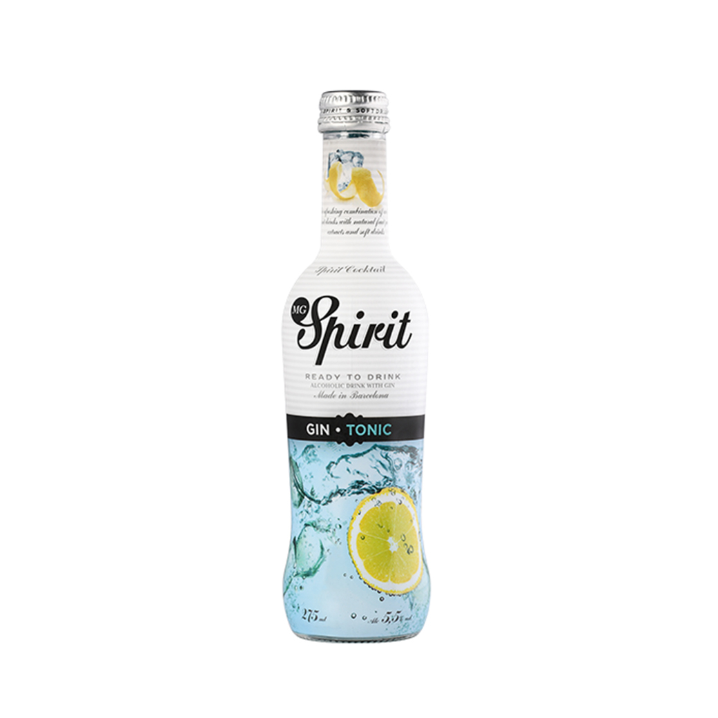 Vodka Spirit Gin Tonic 275cc