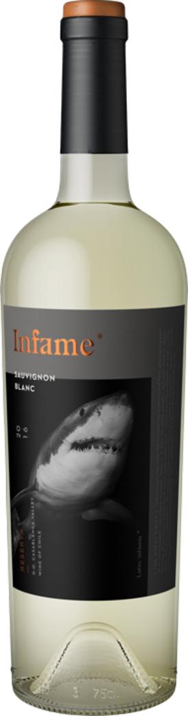 Vino Infame Reserva Sauvignon Blanc - El Tiburón 750cc