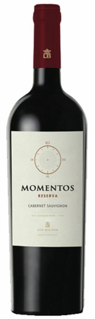 Vino Los Boldos Momentos Reserva Cabernet Sauvignon 750cc
