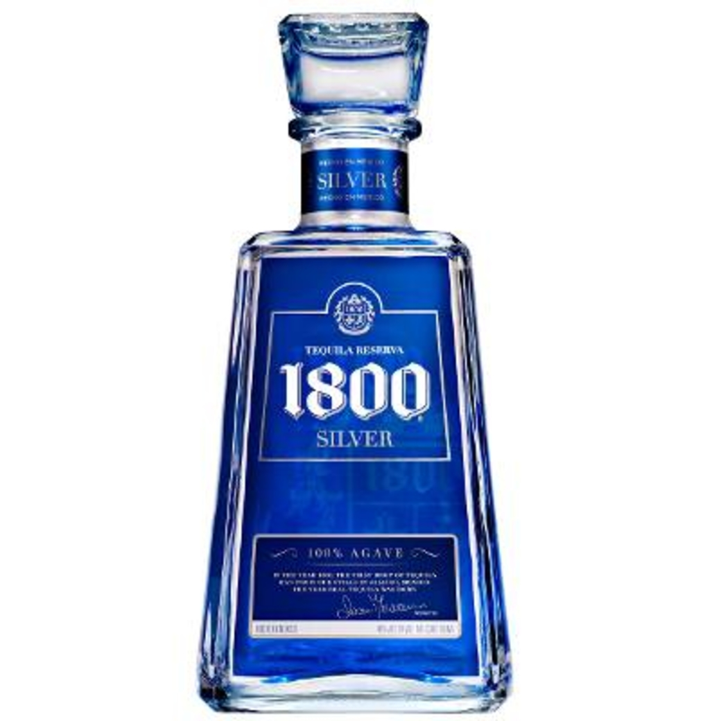 Tequila 1800 Silver 100% Agave 750cc