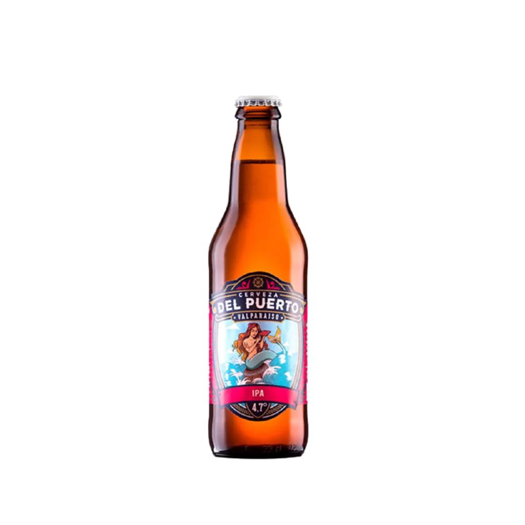Cerveza Del Puerto IPA en Botella 330cc