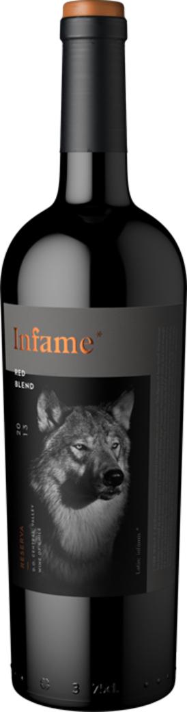 Vino Infame Reserva Red Blend - El Lobo 750cc