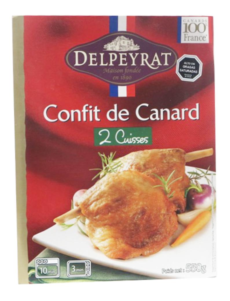 Confit de Canard 2 Muslos 550 gramos