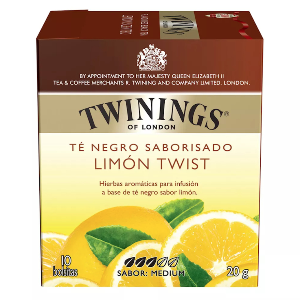 Infusión Twinings Lemon Twist 10 Bolsitas