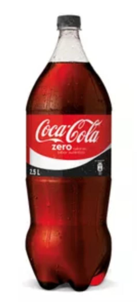 Coca Cola Sin Azúcar 2,5 Litros