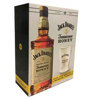 Whiskey Jack Daniels Honey 750cc + Vaso