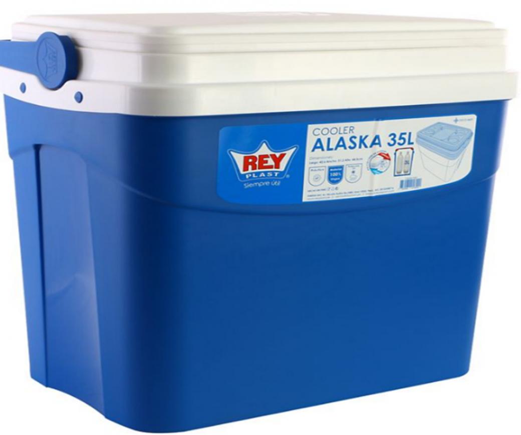 Nevera Cooler Alaska Reyplast 35 Litros