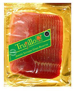 Jamón Serrano Trujillo Etiqueta Verde 180 gramos