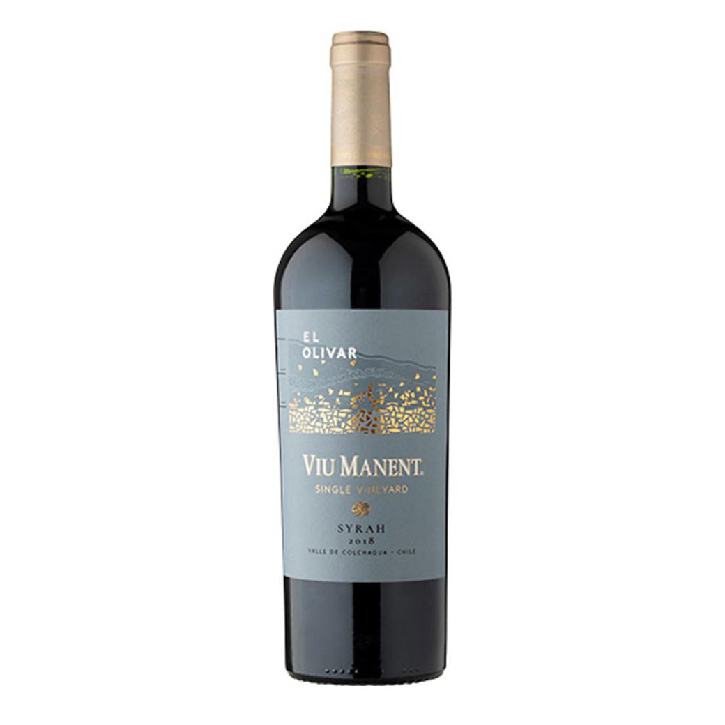 Vino Viu Manent Single Vineyard El Olivar Syrah 750cc