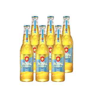 6x Cerveza Royal Guard Smooth Lager 355cc