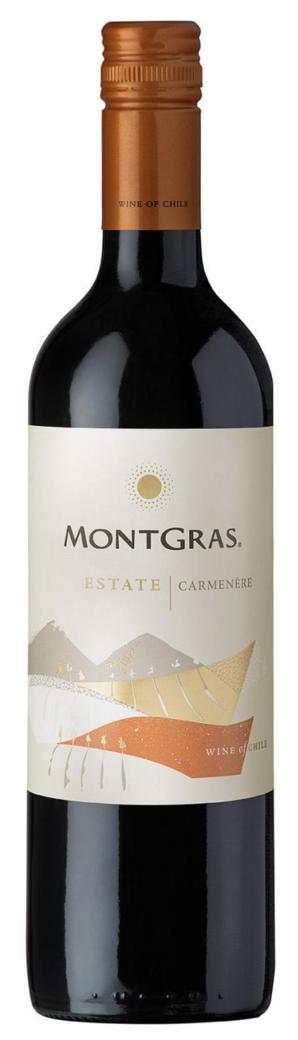 Vino Montgras Estate Carmenere 750cc