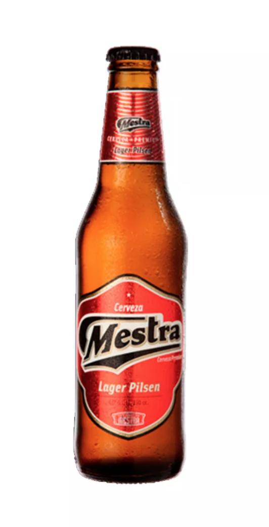 Cerveza Mestra Lager Pilsen Botella 330cc