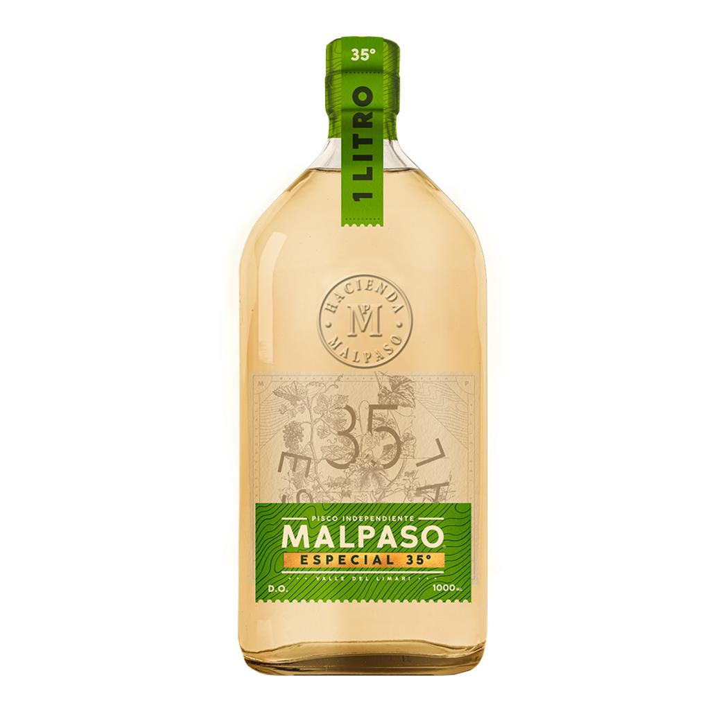 Pisco MalPaso 1 Litro 35º alc.