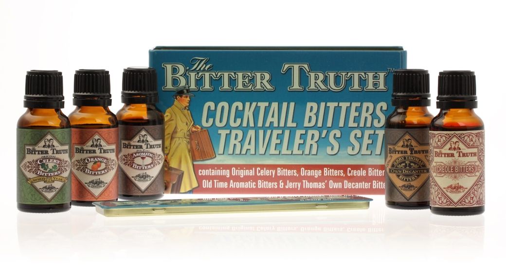 Pack Bitter Truth Traveler's Set 38,2° (Orange-Celery-Old Time-Creole-Aromatic-Jerry Thomas)