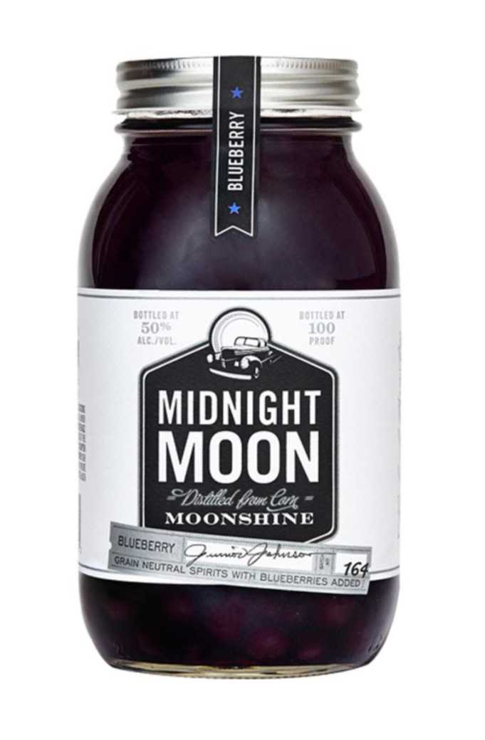 Whiskey Midnight Moon Blueberry (Arándanos) 750cc 50º alc.