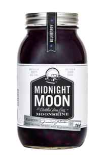 Whiskey Midnight Moon Blueberry (Arándanos) 750cc 50º alc.