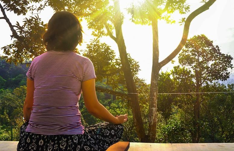 Guia da rotina matinal de meditação