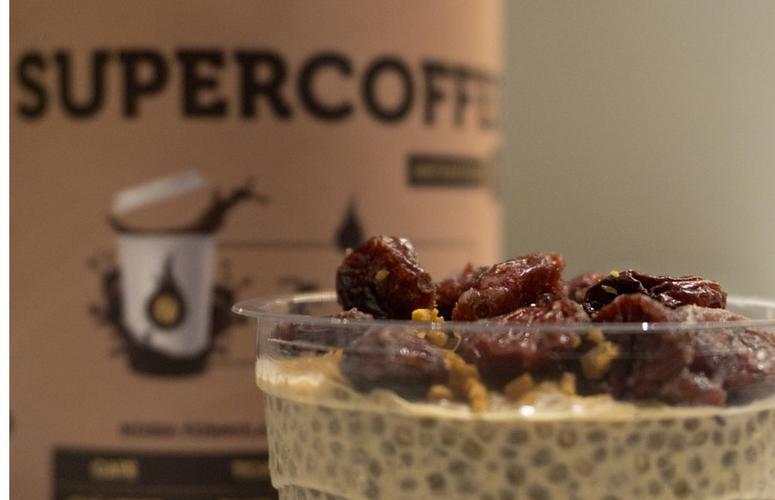 Receita: chia pudding coffee