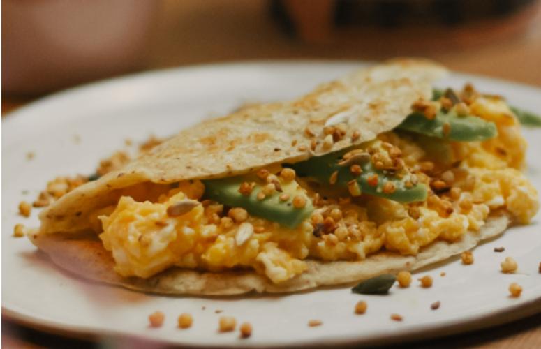 Receita: tortilla recheada